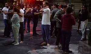 At least 5 dead as magnitude 8.4 quake rocks Mexico, sets off tsunami warning