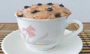 Cook-it-yourself: Chocolate chip cookie mug cake