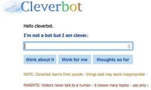 Cleverbot — chat with AI