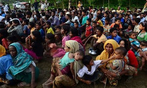 Janjua summons Myanmar envoy to condemn violence against Rohingya Muslims
