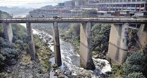 Untreated sewage released into drains, streams causing environmental pollution