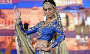 Wardha Saleem's cheerful brides were the highlight of FPW Day 2