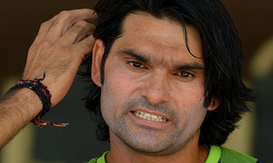 Irfan completes ban period, hopes to play T20 against  SL in Lahore