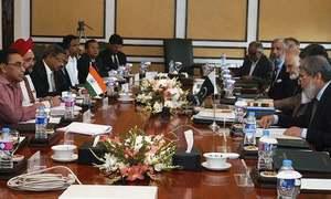 Pakistan's water talks with India under way in Washington