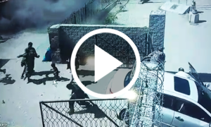 طورخم بارڈر پر بم دھماکوں کی سی سی ٹی وی فوٹیج