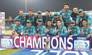 ICC eulogises Pakistan for World XI series success