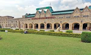 Pindi's railway station — stark reminder of bygone era