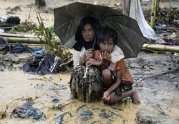 Rain and evictions add to Rohingya misery