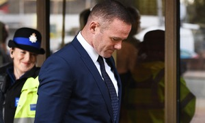 Rooney receives two-year driving ban for drunk-driving