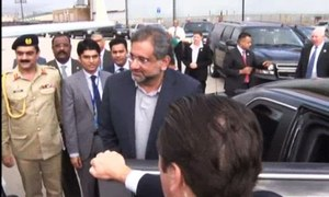 Abbasi arrives at UN to tackle thorny issues