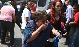 Powerful earthquake jolts Mexico, sways buildings in capital