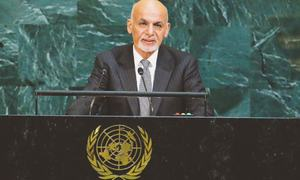 Afghan president offers to re-engage with Pakistan
