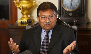 Musharraf accuses Zardari of involvement in murders of Murtaza, Benazir Bhutto