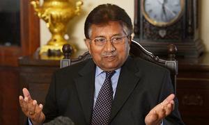 Musharraf accuses Zardari of involvement in murders of Murtaza, Benazir Bhutto
