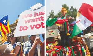 Independence movements in Catalonia and Iraqi Kurdistan face the point of no return