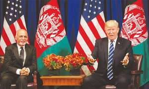 Trump strategy has turned around Afghan war, says Ghani