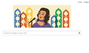Google pays tribute to queen of melody