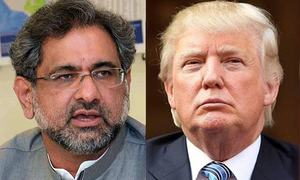 Abbasi, Trump emphasise need to continue bilateral ties