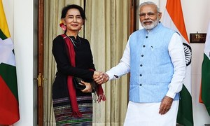 India presses on with Myanmar defence supplies