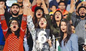From the stands of the Gaddafi Stadium I witnessed the rebirth of cricket fever