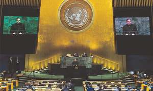 Pakistan won't be anyone's scapegoat, PM tells UN