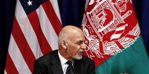 What is Ashraf Ghani's plan to end Afghanistan's 40-year conflict?