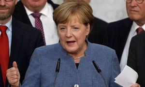 اینجیلا مرکل نے چوتھی مرتبہ جرمن چانسلر کا انتخاب جیت لیا