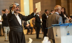 Tensions rise as Iraq Kurds defy Baghdad in historic independence vote