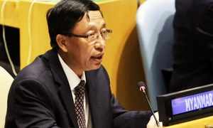 Myanmar says no 'ethnic cleansing,' genocide against Muslims