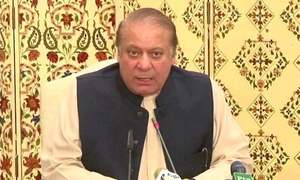 'Fleeing from courts is not our way,' Nawaz says in much-awaited press conference