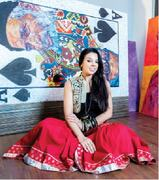 LIVING COLOURS: 'I don't plan my artwork; I just create and surprise myself'