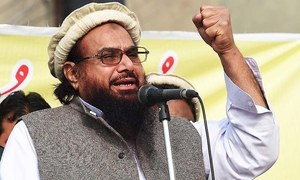 Hafiz Saeed sends Khawaja Asif Rs100m defamation notice