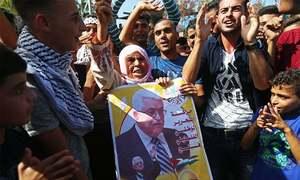 فلسطین کے وزیر اعظم حماس سے مصالحت کیلئے غزہ پہنچ گئے