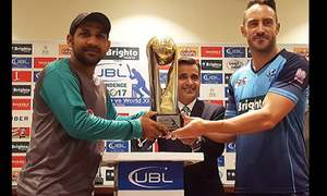International cricket makes a comeback