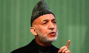Karzai slams new US policy on Afghanistan