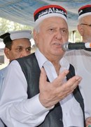 Sherpao welcomes army chief's talks in Kabul