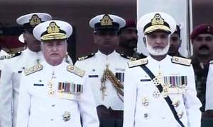 Admiral Zafar Mahmood Abbasi takes charge of Pakistan Navy