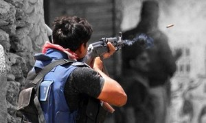 Four 'terrorists' killed in Karachi shootout: police