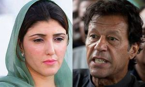 Gulalai violated PTI's laws, Imran's lawyer tells ECP