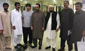 Police take Gazeen Marri into custody again for interrogation into terror cases