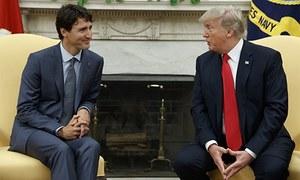 Trump meets Trudeau, says NAFTA negotiations will be 'tough'