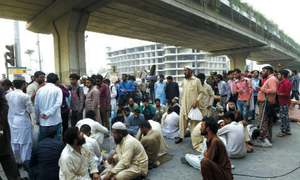 Non-regularisation of jobs: Visually impaired people block Metro route for 10 hours