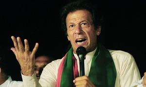 Arrest warrants issued for Imran for 'repeatedly failing to appear' before ECP