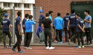 Pakistani, Afghan refugees introduce French town to cricket
