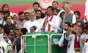 Islamabad drama staged to protect Sharifs from accountability, says Imran
