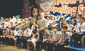 Spelling bee regional championships held