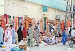 Chaotic traffic in Raja Bazaar belies RMC's claims