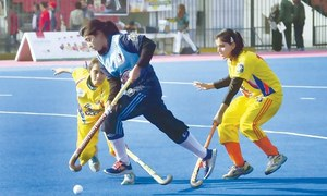 SPORTS DIARY: Women hockey team training for Asian Challenge Cup