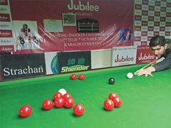 Seven cueists shine in third ranking snooker