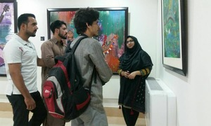 Quetta's Sana Gharshin hopes art and artists will find greater appreciation